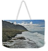 Waves At Kaena State Park 7847 Weekender Tote Bag