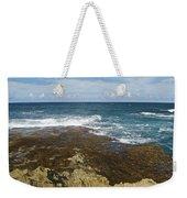 Waves Breaking On Shore 7930 Weekender Tote Bag