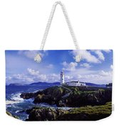 Waves Breaking On The Coast With A Weekender Tote Bag