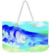 Waves Crashing On The Beach Weekender Tote Bag