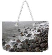 Waves Hitting The Shore Weekender Tote Bag