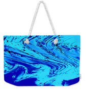 Waves Of Abstraction Weekender Tote Bag