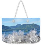 Waves Of Joy Weekender Tote Bag