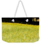 Waves Of Yellow Weekender Tote Bag