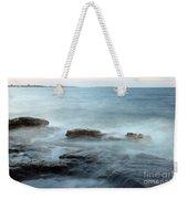 Waves On The Coast Weekender Tote Bag