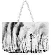 Waves Smashing Seawall, 1938 Weekender Tote Bag