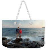 Waves Splash Children Weekender Tote Bag