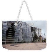 Wavey Building Weekender Tote Bag