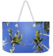 Waving Palm Trees Weekender Tote Bag