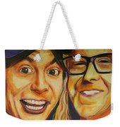 Wayne And Garth Weekender Tote Bag