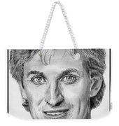 Wayne Gretzky In 1992 Weekender Tote Bag