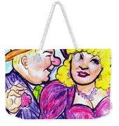 W.c. Fields And Mae West Weekender Tote Bag