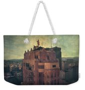We Are All Made Of Stars Weekender Tote Bag by Laurie Search