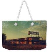 We Met At The Old Motel Weekender Tote Bag by Laurie Search