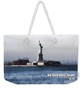 We Shall Never Forget - 9/11 Weekender Tote Bag