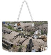 Weapons Caches Weekender Tote Bag