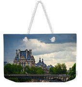Weather In Paris Weekender Tote Bag