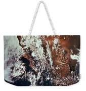 Weather Patterns Over Earth Weekender Tote Bag