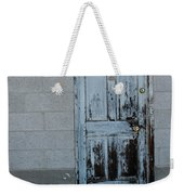 Weathered Door Virginia City Nevada Weekender Tote Bag