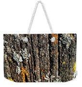 Weathered Post Weekender Tote Bag