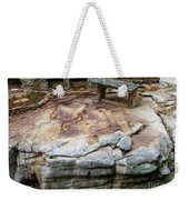 Weathered Stone Weekender Tote Bag