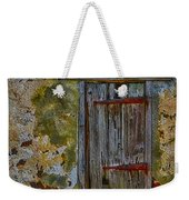 Weathered Vibrancy Weekender Tote Bag