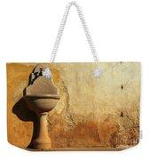 Weathered Water Faucet Weekender Tote Bag