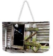 Weathered Wood Window Weekender Tote Bag