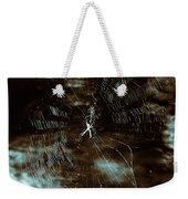 Web Glitter Weekender Tote Bag