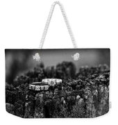 Wedding Bands On Stump Weekender Tote Bag