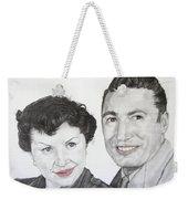 Wedding Day 1954 Weekender Tote Bag