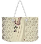Wedding Dress Weekender Tote Bag by Joana Kruse