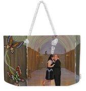Wedding Portrait Weekender Tote Bag