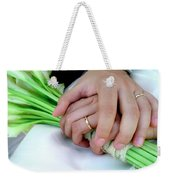 Wedding Rings Weekender Tote Bag