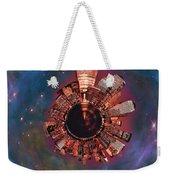 Wee Manhattan Planet Weekender Tote Bag