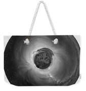 Wee Sequoia Night Sky Planet View Weekender Tote Bag by Nikki Marie Smith