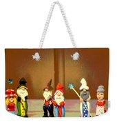 Wee Wooden People Weekender Tote Bag