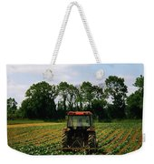 Weeding A Cabbage Field, Ireland Weekender Tote Bag