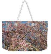 Weeping Cherry Tree In Bloom Weekender Tote Bag
