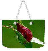 Weeping Rose Bud Weekender Tote Bag