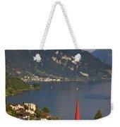 Weggis Switzerland Weekender Tote Bag