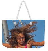 Weightless Hair Weekender Tote Bag