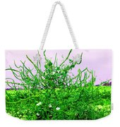 Weird Weeds Weekender Tote Bag