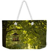 Welcome Feather Friends Weekender Tote Bag