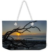 Welcome The Day Weekender Tote Bag