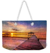 Welcome The Morning Weekender Tote Bag