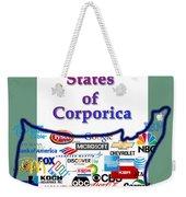 Welcome To Corporica Weekender Tote Bag