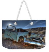 Welcome To Death Valley Weekender Tote Bag by Bob Christopher