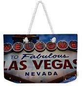 Welcome To Fabulous Las Vegas 2 Weekender Tote Bag