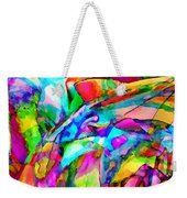 Welcome To My World Triptych Weekender Tote Bag